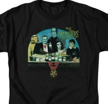 The Munsters Family t-shirt retro 60s comedy TV series graphic tee NBC892 image 2