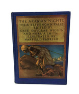 Vintage 1937 The Arabian Nights Maxfield Parrish Kate Douglas Wiggins No... - $60.78