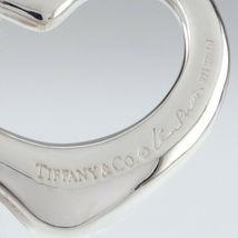 Tiffany & Co. Elsa Peretti Cuore Aperto Grande Ciondolo Argento Sterling image 5