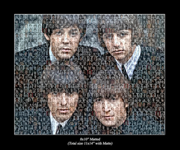 The Beatles Mosaic Print Art  - $24.99+