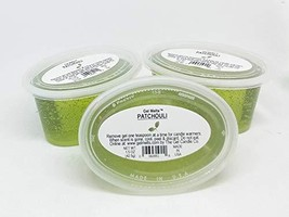 Patchouli scented Gel Melts for warmers - 3 pack - $5.77