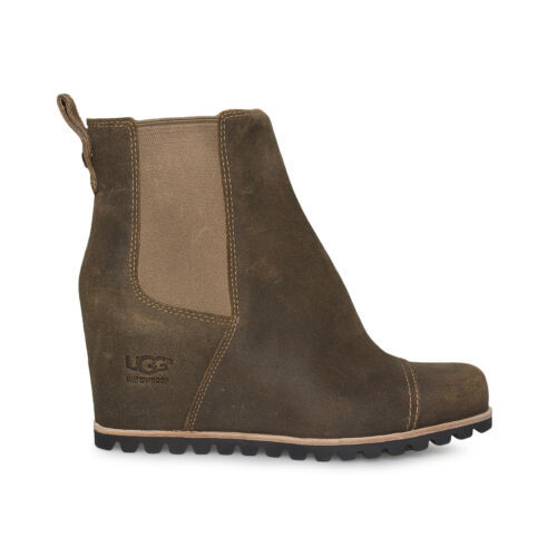 0ad4c03d524 Ugg Pax Chipmunk Waterproof Leather Wedge and 50 similar items