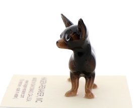 Hagen-Renaker Miniature Ceramic Dog Figurine Chihuahua Tiny Mama Black image 2