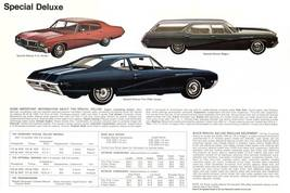 1968 Buick brochure 24 X 36 inch poster  - $18.99