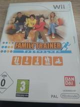 Nintendo Wii~PAL REGION Family Trainer image 1