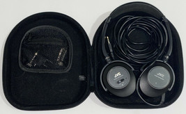 AWESOME JVC HA-NC250 Wired, Noise Cancelling Headphones Black w/ Case Ad... - $26.72