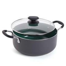 Gibson GH 5QT DutchOven Green Ceramic - $22.95