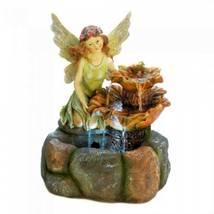 10018478 Cascading Fountains Gorgeous Fairy Garden Fountain - $144.88