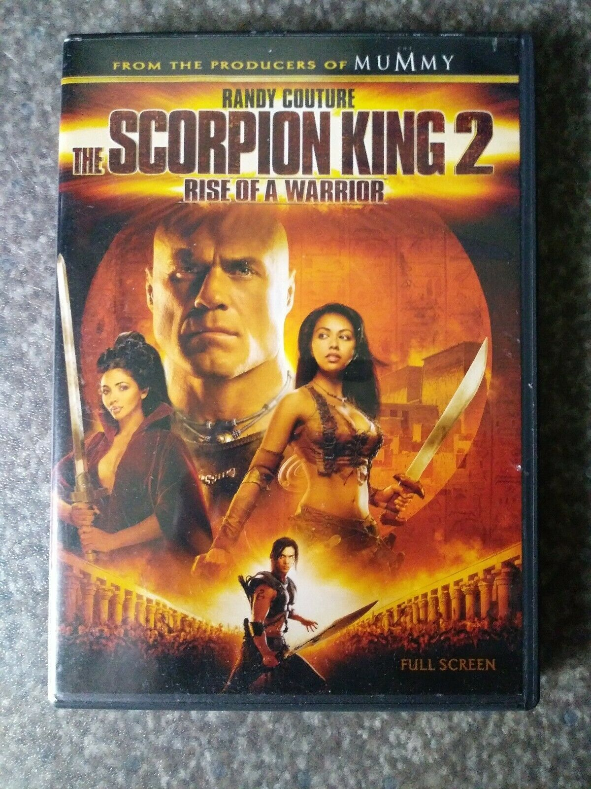 Primary image for The Scorpion King 2: Rise of a Warrior (DVD, 2008, Full Frame)
