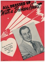 All Dressed Up With A Broken Heart ~ Patrick ~ Reese ~ Val ~ Sheet Music... - $10.84