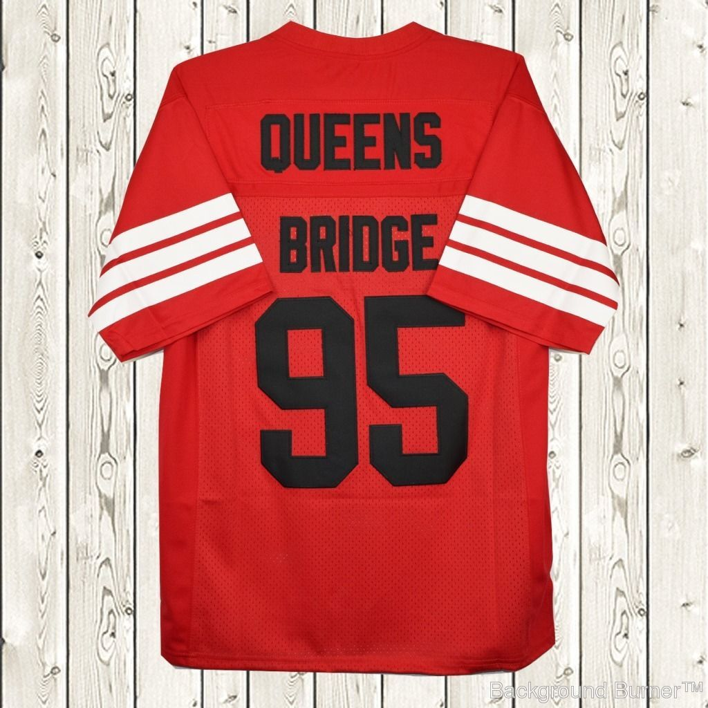 1b4ef6f2bf2 S l1600. S l1600. Previous. Prodigy #95 Hennessy Queens Bridge Movie  Stitched Football Jersey Red NWT