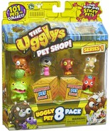 The Ugglys Pet Shop Toy Figure (8-Pack) - $16.82
