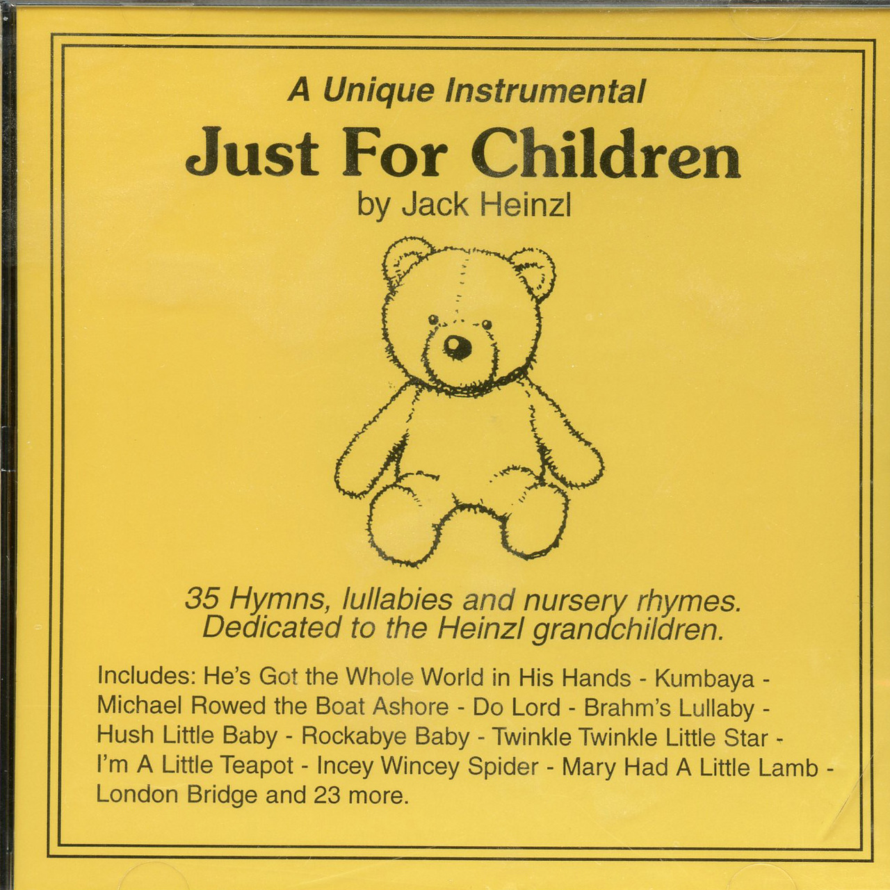 Just for children by jack heinzl