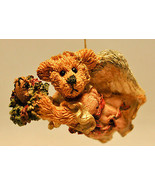 Boyds Bears & Friends: Hope ...The Angel Bear With Wreath - 02501 - Orna... - $19.79