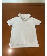 Boys Kids Urban Pipeline White Polo T-Shirt Size Small 8 100% Cotton - $4.94