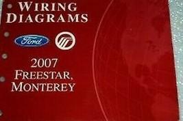 2007 Ford Freestar Elektrisch Wiring Service Shop Reparatur Manuell Ewd 07 - $3.09
