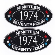 1974 SEW/IRON On Patch Embroidered Badge Emblem Chevrolet Ford Dodge Pontiac - $12.50