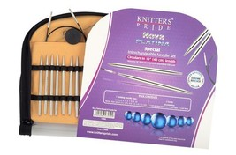 Knitters Pride NOVA PLATINA 16 inch IC Knitting Needle Set  7 PR MPN 120602 - $71.58 CAD