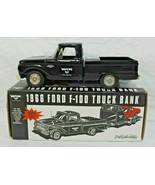 Wix Filters 1966 Ford F-100 Pickup Truck Bank Ertl Collectible Black New... - $35.00
