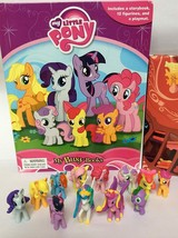 My Little Pony 12 Minifigures & Playmat! My Busy Book - $97.80