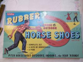 Schylling Rubber Horse Shoe Game in original box 1950's - $35.00
