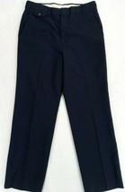 """Vintage Haggar Mens Blue Dress Pants Size 33""""x32"""" w/measurements 32""""x31""""... - $17.05"""
