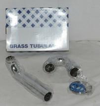 Dearborn Brass 700 1 Brass Tubular P Trap 20 Gauge Chrome Plated image 1