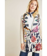 NWT ANTHROPOLOGIE MARITZA FLORAL SWEATER COAT by ALDOMARTINS M - $184.29