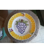 Tabletops Unlimited dinner plate (Italian Fruit-grapes) 1 available - $7.87