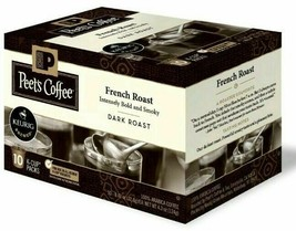 Peet's Coffee French Roast Dark roast coffee K-Cup Coffee Pods 60 Count image 1