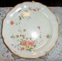 5 Mikasa Silk Bouquet Ec 483 Salad Bread Plates Flowers Floral Roses - $29.44