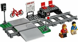 LEGO City Train Station, Platform, Level Crossing, (Split) New from 6005... - $50.05