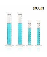 ULAB Scientific Plastic Measuring Cylinder Set, 2 Sizes 100ml 250ml 3.4o... - $16.07