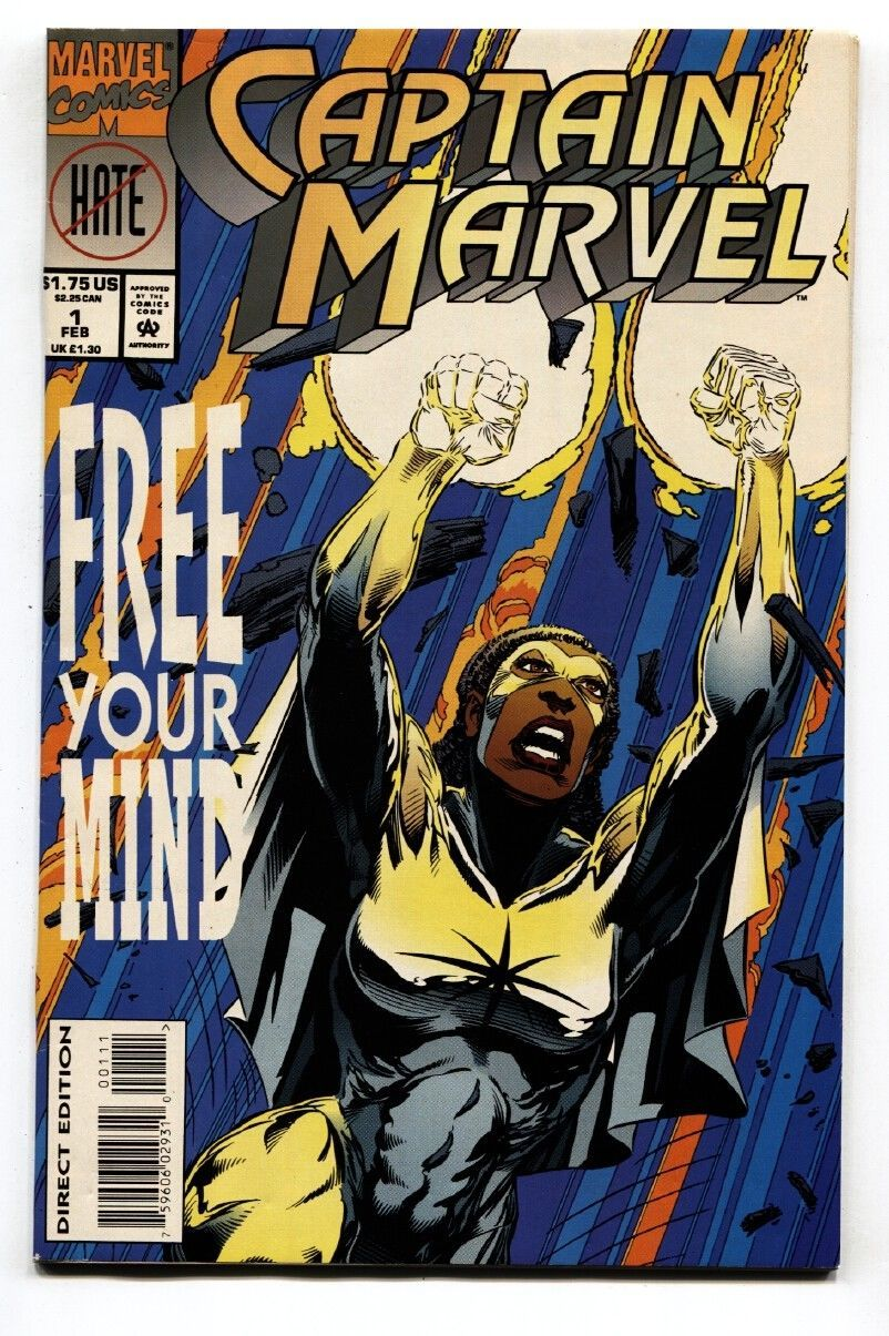 Captain Marvel #1 1994-First issue-Marvel-comic book VF/NM