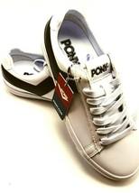 PONY Women's Top Star Low Top Core Chevron Retro Fashion Shoes White / B... - $28.66