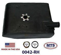 PLASTIC FUEL TANK MTS 0042-RH FITS 65-72 JEEP CJ5 CJ6 UNDER THE PASSENGERS SEAT image 3