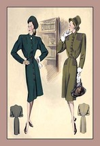 Tailored Dress & Chic Dress - Art Print - $19.99+