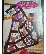 Afghan Quilt Sampler Pattern for Beautiful Crocheted Quilt and Accessories - $10.00
