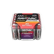 Rayovac Fusion AAA Batteries, Premium Alkaline Triple A Batteries 30 Battery Cou - $16.23