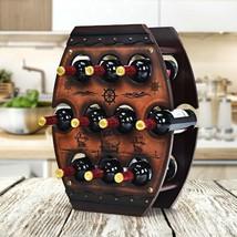 10 Bottle Vintage Wine Display Rack - £53.30 GBP