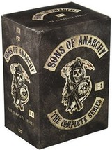 Sons of anarchy the complete series dvd seasons 1 7  30 dvd set  2015  thumb200