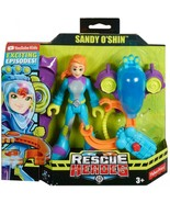 Fisher Price Rescue Heroes Sandy O'Shin Removable Flippers & Water Rescue Claw  - $19.79