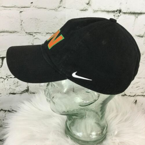 Nike SW Men's One Sz Hat Black Adjustable Strapback Sport Baseball Cap