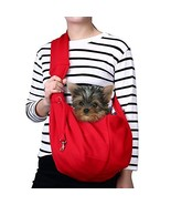 TOMKAS Small Dog Cat Carrier Sling Hands Free Pet Puppy Outdoor Travel B... - $25.81