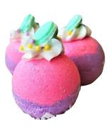 Sugared Macaroon Bath bomb, Bath bomb gifts, Bath bomb favors, bakery ba... - $7.95