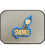 "6"" Smore's Words with Marshmallow 3D Printed Cookie Cutter #P8105 - $3.00"