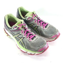 Asics GT 1000 womens size 8.5 2A Running Shoes Green White Sneakers T5B5N - $28.87
