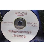 Biblical Proof of UFOs CD promo includes 2 stickers - $3.99