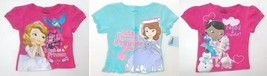 Disney Sofia the First Doc McStuffins Toddler Girls T-Shirts Sizes 3T or... - $13.99