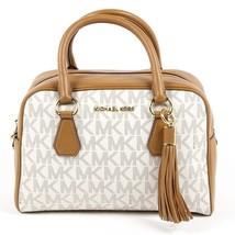 Beige ONE SIZE Michael Kors Womens Handbag BEDFORD 35T7GBFS2B VANILLA ACRN - $357.65